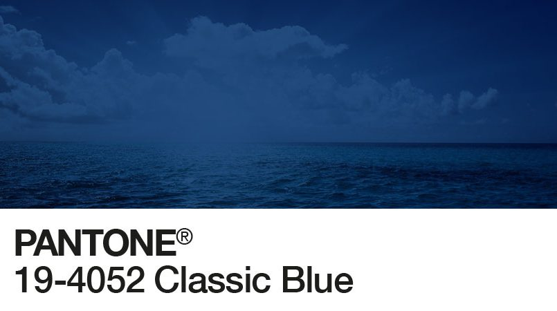 Il Pantone del 2020. Classic Blue