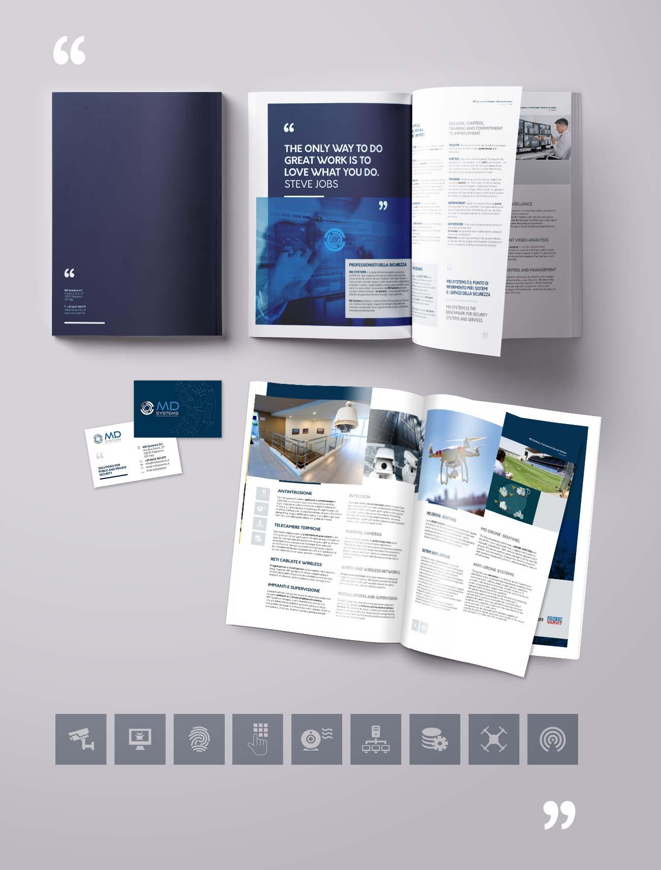 MD Systems. I professionisti della sicurezza. Brochure Istituzionale