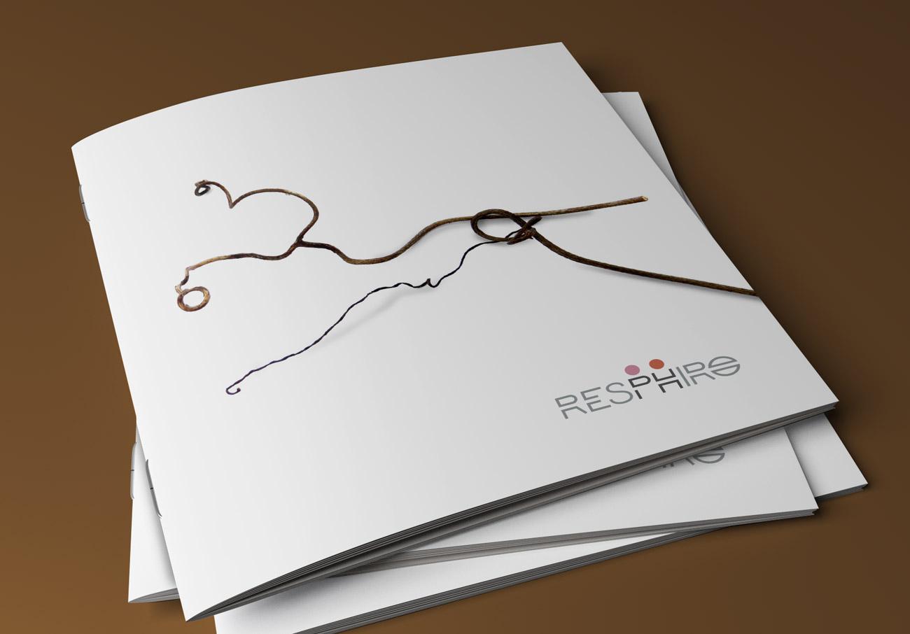 Azienda vinicola Resphiro. Copertina della Brochure