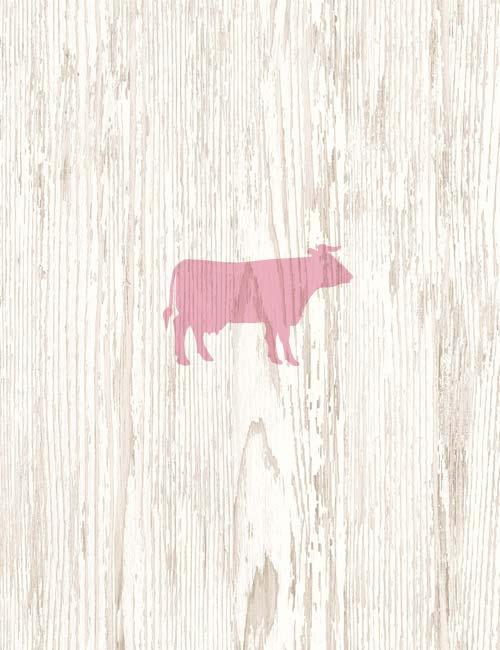 Azienda Agricola Manig. Fondo in legno con mucca