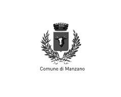 Comune di Manzano. Logo