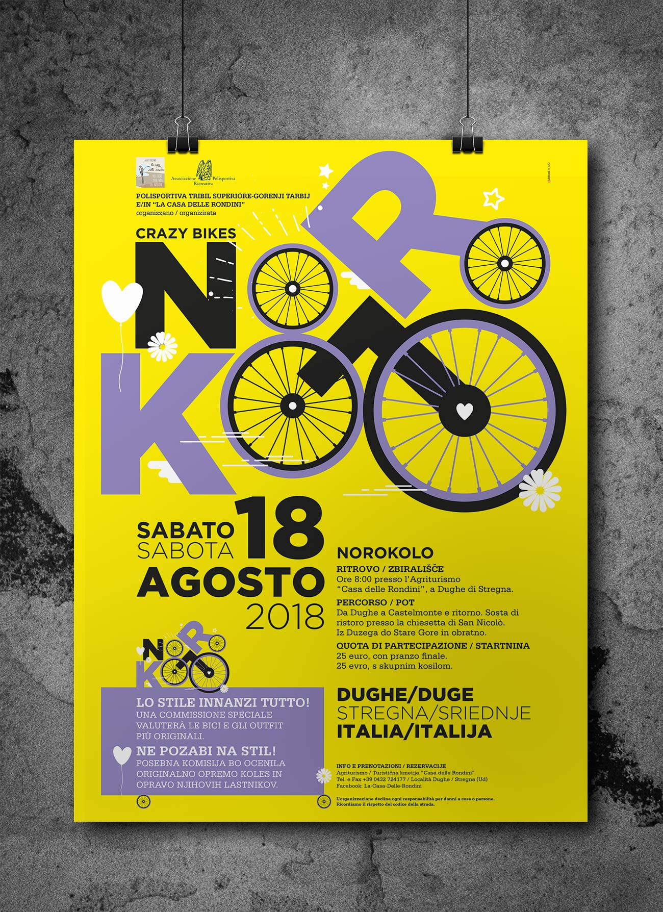 Evento Noroloko Crasy Bikes nel comune di Stregna