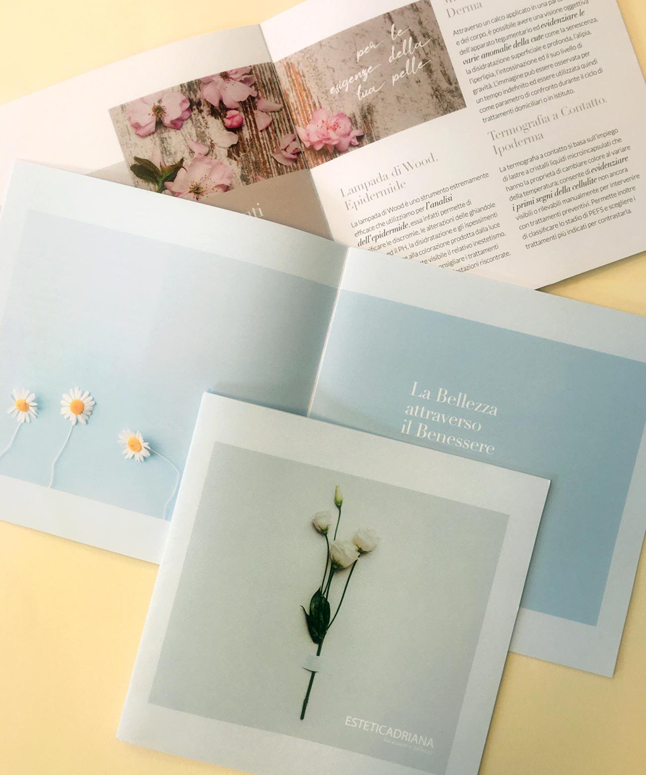 Estetica Adriana. La nuova brochure della bellezza attraverso il benessere